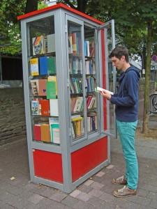 öffentlicher Bücherschrank